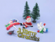 Plastic & Craft Christmas Cake Decorations